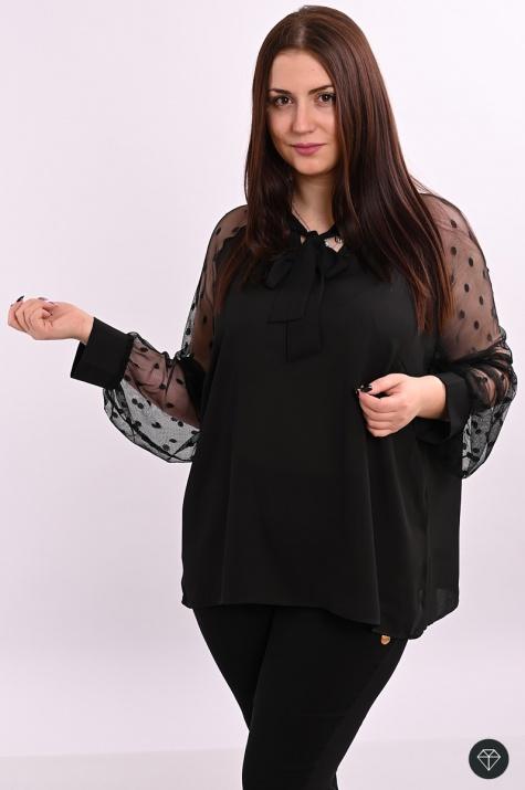 Стилна блуза Невероятна визия снимка 2